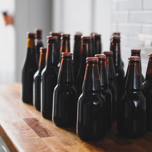 Bottiglie in vetro per birra