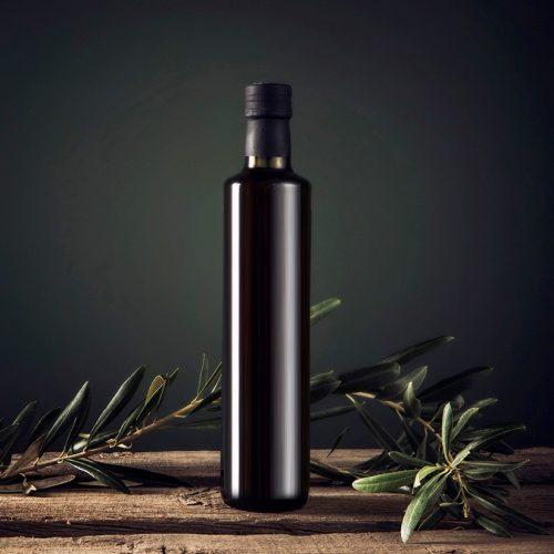 Bottiglie in vetro per olio