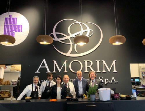 Con Amorim Cork Italia al Simei 2019
