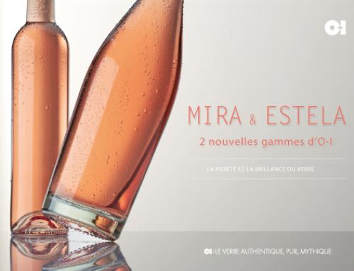 Nuove bottiglie per rosato O-I